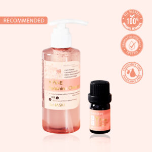 Y Fine Feminine Cleanser and Dropper